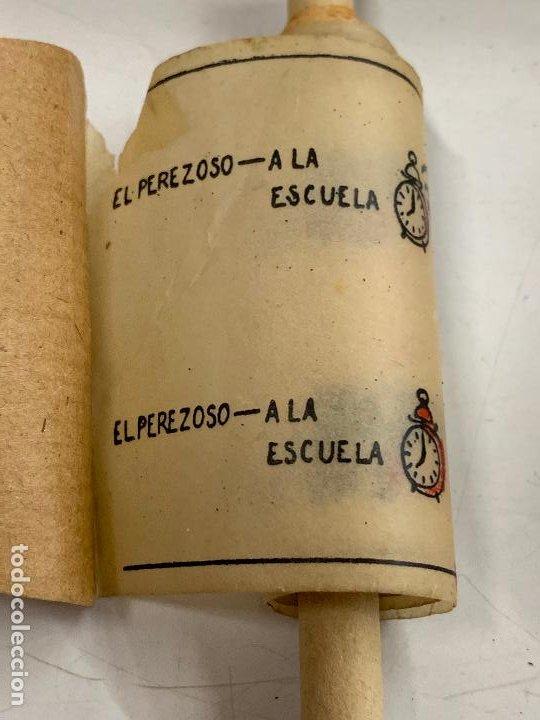 Juguetes Antiguos: CINE NIC, EL PEREZOSO. A la escuela. Años 50 - Foto 2 - 277172538