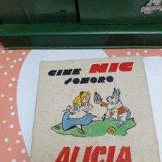 Giocattoli Antichi: ALICIA EN EL PAÍS DE LAS MARAVILLAS. CAJA ORIGINAL 6 UNIDADES.. Lote 277297508