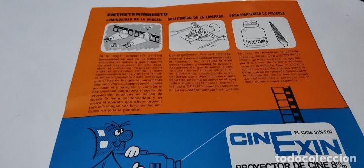 Juguetes Antiguos: CINE EXIN - PROYECTOR DE CINE 8 MM WALT DISNEY FALTA EL PIE - Foto 3 - 277569228