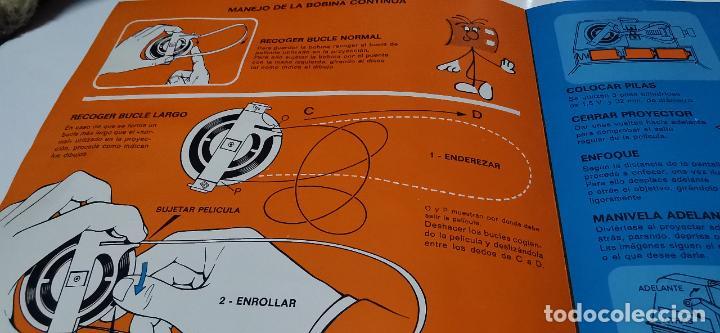 Juguetes Antiguos: CINE EXIN - PROYECTOR DE CINE 8 MM WALT DISNEY FALTA EL PIE - Foto 4 - 277569228