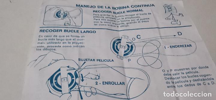 Juguetes Antiguos: CINE EXIN - PROYECTOR DE CINE 8 MM WALT DISNEY FALTA EL PIE - Foto 7 - 277569228