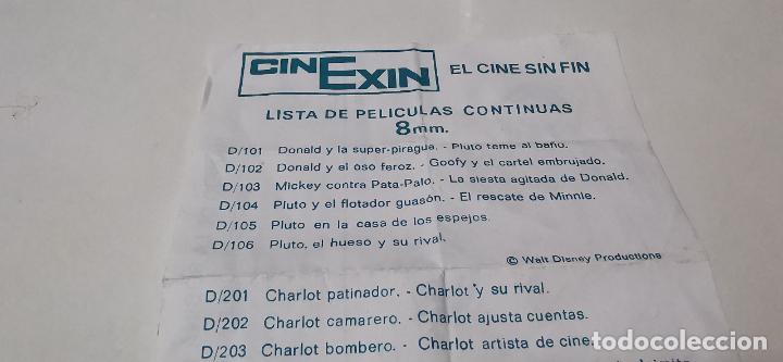 Juguetes Antiguos: CINE EXIN - PROYECTOR DE CINE 8 MM WALT DISNEY FALTA EL PIE - Foto 9 - 277569228