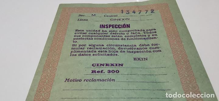 Juguetes Antiguos: CINE EXIN - PROYECTOR DE CINE 8 MM WALT DISNEY FALTA EL PIE - Foto 11 - 277569228