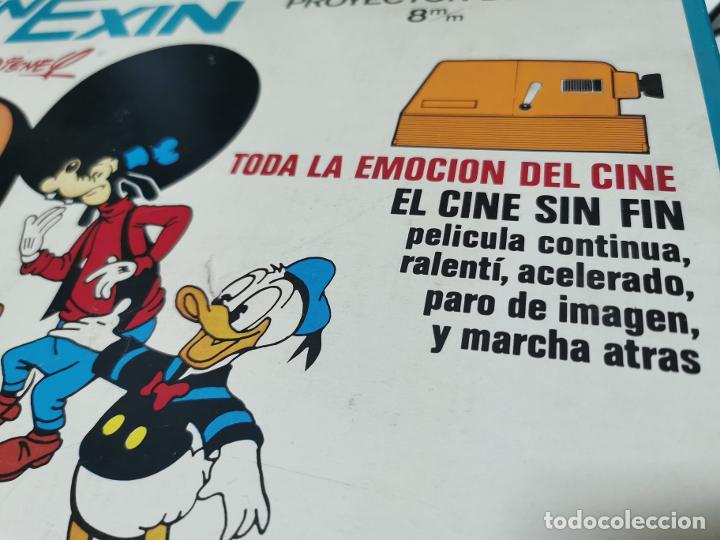 Juguetes Antiguos: CINE EXIN - PROYECTOR DE CINE 8 MM WALT DISNEY FALTA EL PIE - Foto 17 - 277569228