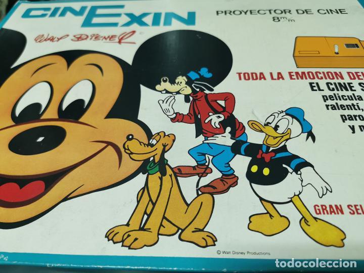 CINE EXIN - PROYECTOR DE CINE 8 MM WALT DISNEY FALTA EL PIE (Juguetes - Pre-cine y Cine)