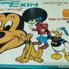 Juguetes Antiguos: CINE EXIN - PROYECTOR DE CINE 8 MM WALT DISNEY FALTA EL PIE. Lote 277569228