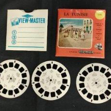 Giocattoli Antichi: VIEW MASTER - 3 DISCOS - LA TUNISIE - TUNEZ. Lote 284691908