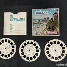 Giocattoli Antichi: VIEW MASTER - 3 DISCOS - OSLO - NORUEGA -. Lote 284827113