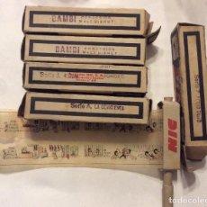 Juguetes Antiguos: CONJUNTO DE PELÍCULAS PARA PROYECTOR NIC. Lote 285769973