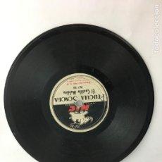 Juguetes Antiguos: DISCO CINE NIC SONORO ORIGINAL EN BUEN ESTADO - DOS CARAS DOS CUENTOS. Lote 286706033
