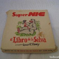 Juguetes Antiguos: CINE SUPER NIC - CAJA COMPLETA CON LAS 6 PARTES - EL LIBRO DE LA SELVA. Lote 286854233