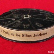 Juguetes Antiguos: PELÍCULA PATHE BABY- NEGRITINA LA PERLA DE LOS NIÑOS JUICIOSOS -. Lote 287564198