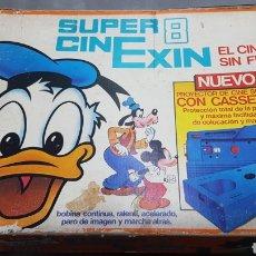 Juguetes Antiguos: SUPER CINE EXIN CON 2 PELICULAS. Lote 287832028