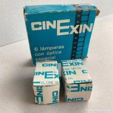 Juguetes Antiguos: CINEXIN CAJA: 6 LAMPARAS CON OPTICA ESPECIAL Y 2 BOMBILLAS. Lote 288864188