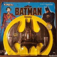 Juguetes Antiguos: BATMAN - BATWING - ERTL - DIE-CAST METAL - DC COMICS INC.1989 - 1:43 SCALE #2495. Lote 293286858