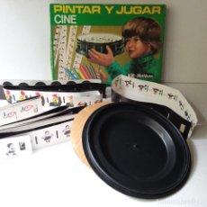 Juguetes Antiguos: JUGAR Y PINTAR KIT PELIKAN CINE. Lote 295461988