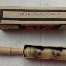 Juguetes Antiguos: PELICULA NIC LOS GRILLOS SABIOS SERIE K SE APRECIA QUE ESTA ALGO ROTA. Lote 296034853