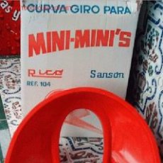 Giocattoli antichi Rico: CURVA-GIRO PARA MINI-MINI'S DE RICO. Lote 21837780