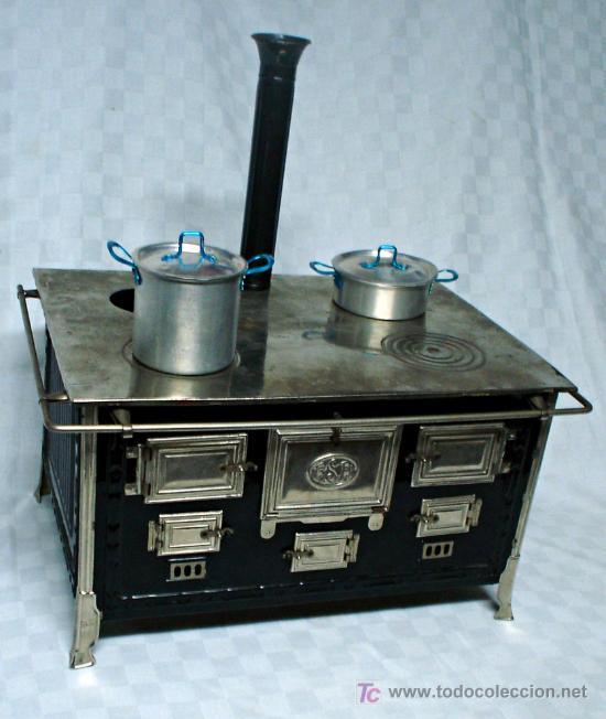 Cocina de carb n con chimenea juguetes rico a comprar - Cocina de carbon ...