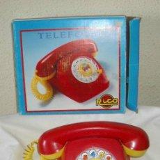 Juguetes antiguos Rico: TELÉFONO DE RICO,CAJA ORIGINAL,A ESTRENAR. Lote 26310861