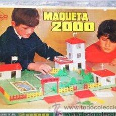 Juguetes antiguos Rico - ANTIGUO JUEGO DE CONSTRUCCION MAQUETA 2000 RICO - 27242820