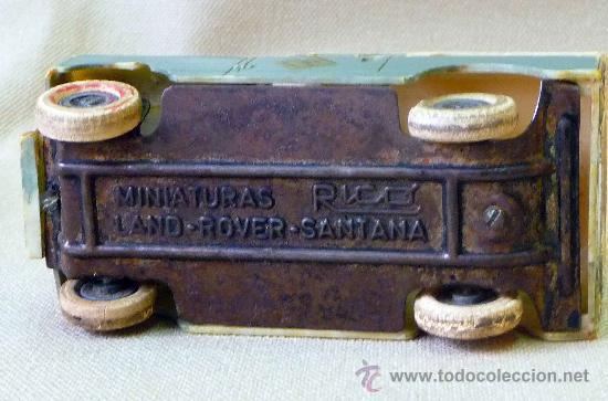 Juguetes antiguos Rico: MEGA RARO, MINIATURAS RICO, LAND ROVER SANTANA, AUXILIO DE CARRETERA, SIN CAJA A FRICCION - Foto 9 - 25711854