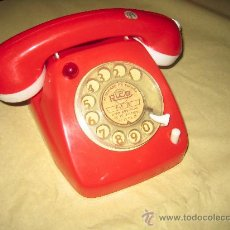 Juguetes antiguos Rico: ANTIGUO TELEFONO DE RICO - FUNCIONA A PILAS - AÑOS 60-70. Lote 23650266