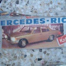 Juguetes antiguos Rico: COCHE MERCEDES DE RICO. Lote 27089244