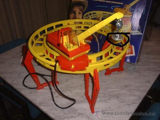 Juguetes antiguos Rico: FALTA CONTRAPESO - Foto 12 - 27228465
