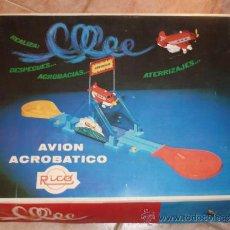 Juguetes antiguos Rico: RICO AVION ACROBATICO, JUGUETE. Lote 186373621