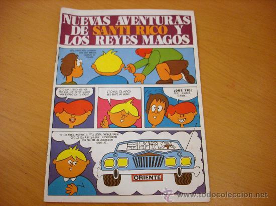 RICO TEBEO LAS NUEVAS AVENTURAS DE SANTI RICO (Juguetes - Marcas Clásicas - Rico)