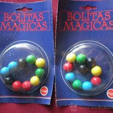 Juguetes antiguos Rico: BOLITAS IMANTADAS MAGICAS RICO, DOS BLISTER. Lote 30613458