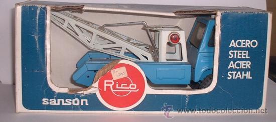 CAMION RICO SANSON CADET, METALICO, REF 360, EN CAJA. CC (Juguetes - Marcas Clásicas - Rico)