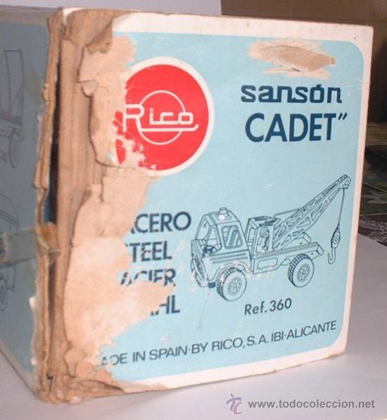 Juguetes antiguos Rico: CAMION RICO SANSON CADET, METALICO, REF 360, EN CAJA. CC - Foto 2 - 31571707