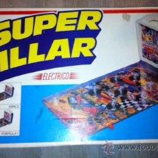 Juguetes antiguos Rico: PINBALL FLIPPER PETACO SUPER BILLAR ELECTRICO DE RIMA AÑOS 70. Lote 46516546