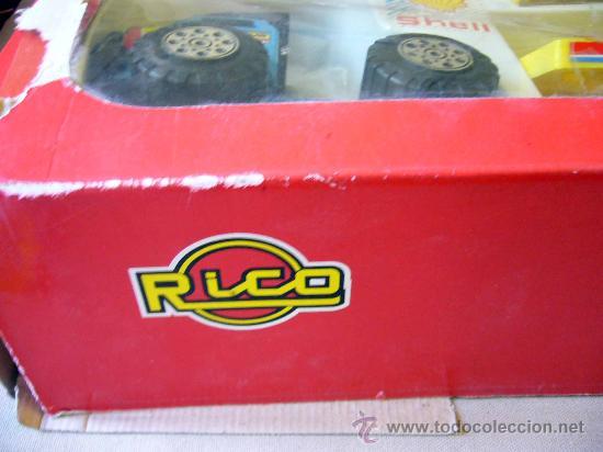 Juguetes antiguos Rico: RARA CAJA, SAHARA RAIDS, FABRICADA POR RICO, 1980s, MERCEDES, CAJA DE 62 X 41 CM, PLASTICO - Foto 18 - 32197635