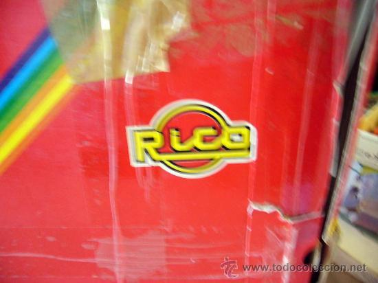 Juguetes antiguos Rico: RARA CAJA, SAHARA RAIDS, FABRICADA POR RICO, 1980s, MERCEDES, CAJA DE 62 X 41 CM, PLASTICO - Foto 14 - 32197635