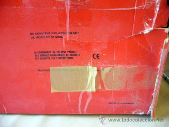 Juguetes antiguos Rico: RARA CAJA, SAHARA RAIDS, FABRICADA POR RICO, 1980s, MERCEDES, CAJA DE 62 X 41 CM, PLASTICO - Foto 13 - 32197635