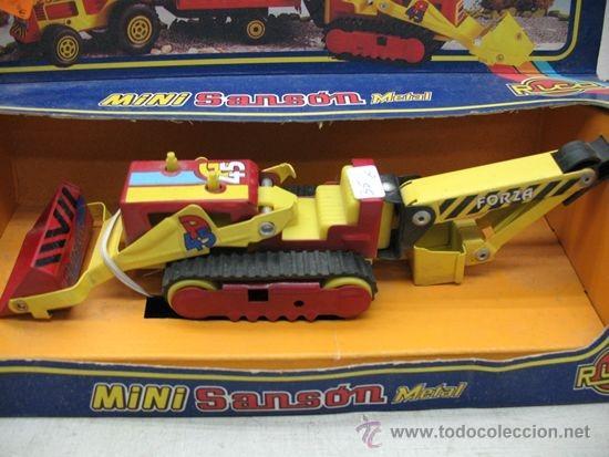 Juguetes antiguos Rico: RICO - Mini Sansón Metal Grúa - Foto 2 - 33415916