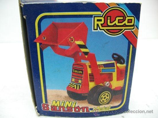 Juguetes antiguos Rico: RICO - Mini Sansón Metal Grúa - Foto 4 - 33415916