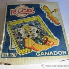 Juguetes antiguos Rico: JUEGO RICO, GANADOR, REF 150, AÑOS 60 EN CAJA. CC. Lote 33507462