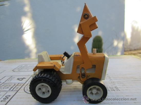 Juguetes antiguos Rico: tractor pala marca rico - sanson - ver fotos - Foto 2 - 36397657