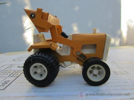 Juguetes antiguos Rico: tractor pala marca rico - sanson - ver fotos - Foto 3 - 36397657