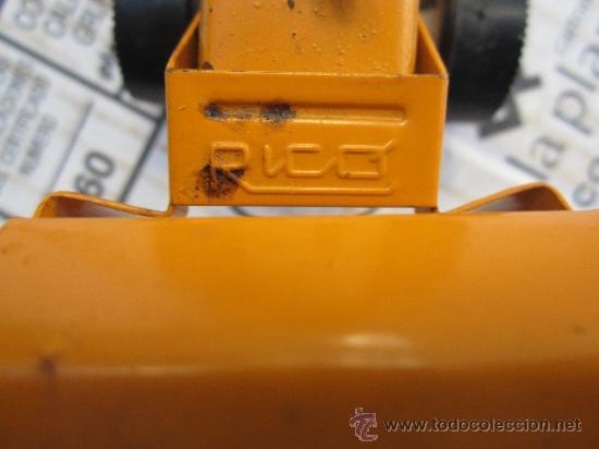 Juguetes antiguos Rico: tractor pala marca rico - sanson - ver fotos - Foto 5 - 36397657