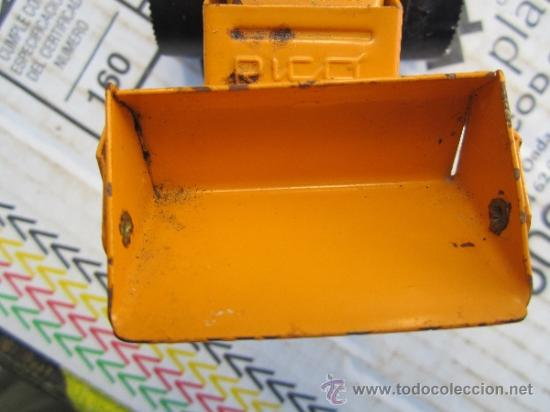 Juguetes antiguos Rico: tractor pala marca rico - sanson - ver fotos - Foto 4 - 36397657