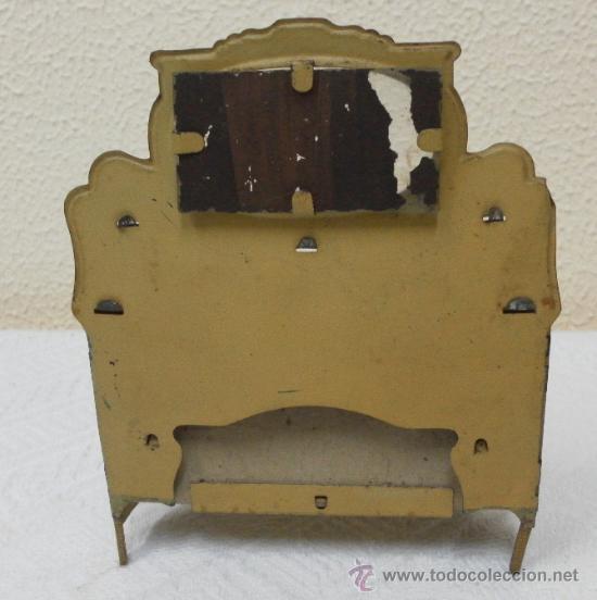 Juguetes antiguos Rico: Aparador. Hojalata. Fabricado por Rico. Años 30/40. - Foto 3 - 36369955