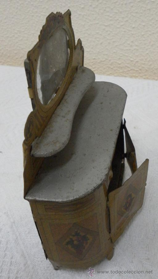 Juguetes antiguos Rico: Aparador. Hojalata. Fabricado por Rico. Años 30/40. - Foto 4 - 36369955