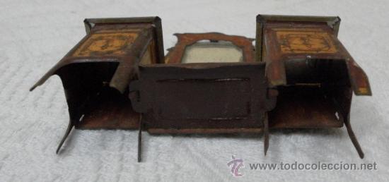 Juguetes antiguos Rico: Tocador modernista. Hojalata. Fabricado por Rico. Años 30/40. - Foto 3 - 36370041