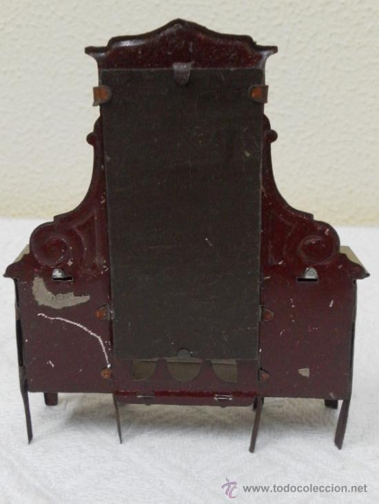 Juguetes antiguos Rico: Tocador modernista. Hojalata. Fabricado por Rico. Años 30/40. - Foto 4 - 36370041