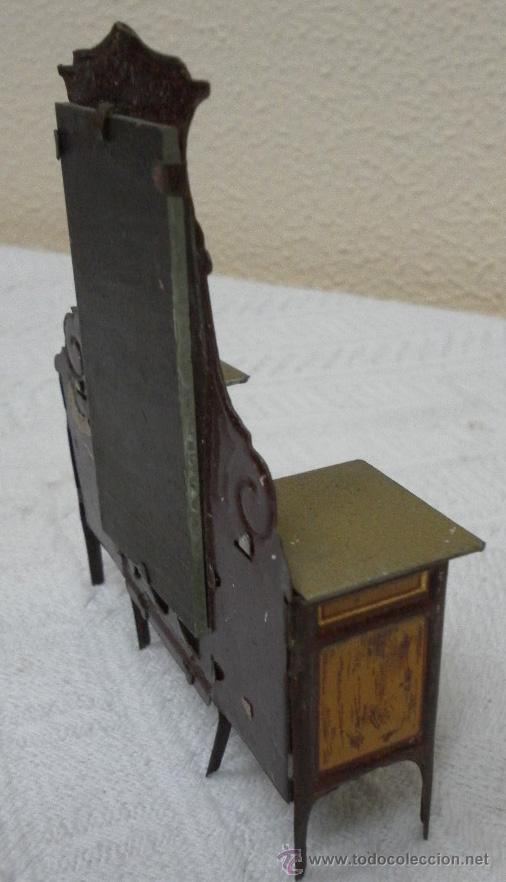 Juguetes antiguos Rico: Tocador modernista. Hojalata. Fabricado por Rico. Años 30/40. - Foto 5 - 36370041